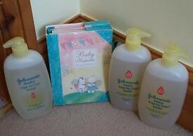 Brand new baby wash and baby keepsake photograph album.
