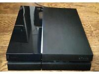 Playstation 4 with destiny taken king