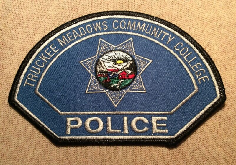 NV Truckee Meadows Community College Nevada Police Patch