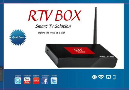 RTV indian TV box Pakistan TV box Arabic Europe Tv box French Uk City North Canberra Preview