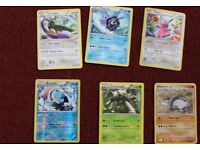 Snorlax, Throh, Piloswine, Salamence X, Suicune, Darkrai X Pokemon Cards