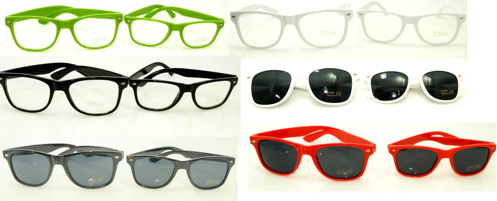 Neue schöne Sonnenbrille für eine Frau einen Mann oder ein Kind mit 100% UV