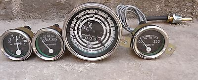 Ford Tractor 600700800900180020004000 Series Tachotempoil Amp Gauge Kit