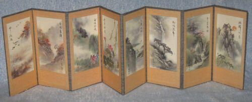 Korean Art 8 Panel Folding Screen (2000) Korean Art Culture Club Jeonju Branch
