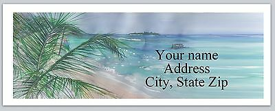 Personalized Address Labels Beach Buy 3 Get 1 Free Ac 795