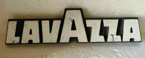 Lavazza Coffee vintage sign cast iron rare collectible