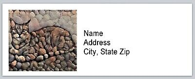 Personalized Address Labels Cat Art Buy 3 Get 1 Free Bx 577