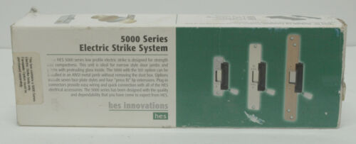 HES Electric Strike System - Body Only - P/N 5000-24D