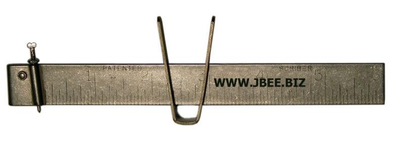 "JBee SC-1  6"" stainless steel scriber sheet metal Wimco Quick set AMERICAN MADE"
