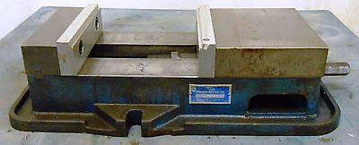"KURT 8"" ANG LOCK PRECISION MACHINE VISE MODEL D60-1, 7 5/8"" JAW OPENING"