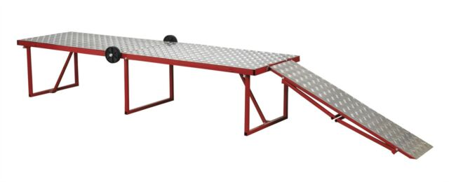 Sealey MCW360 Motorcycle Portable Folding Workbench 360kg Capacity