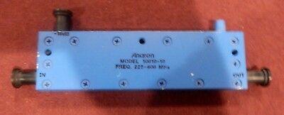 Anaren Microwave 10010-10 Directional Coupler 225-400 Mhz