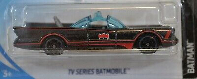 Classic TV Series Batmobile Black Red Accents 2018 Hot Wheels