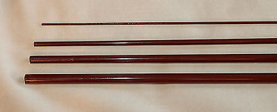 8wt Blank (IM6, 4 PC, 8 WT, 9 FT FLY ROD BLANK, opaque brown, 1 Tip, by Roger )