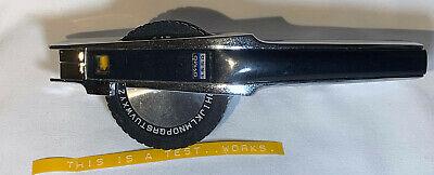 Vintage Dymo 1550 Chrome Tape-writer Embossing Label Maker Working