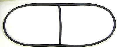 Plymouth Rubber - 1939 Plymouth Front Windshield Rubber Gasket Seal With Center Bar