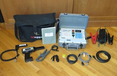 Battery Impedance Tester - Megger BITE 2 Battery Impedance Tester Transmitter + Receiver w/Accessories