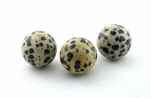 ONE 20mm 4/5 Inch Dalmation Jasper Sphere Crystal Ball Gemstone Gem Stone MS22