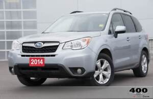 2014 Subaru Forester 2.5I Limited **RARE**MANUAL**TWO SETS OF TI