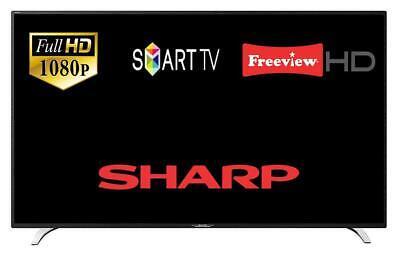 "Sharp Aquos 2T-C40BG2KE1FB 40"" Smart LED TV Wi-Fi Full HD with Freeview HD"