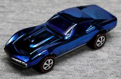 2018 Hot Wheels RLC Original 16 Custom Corvette From Store Display-Loose-Blue