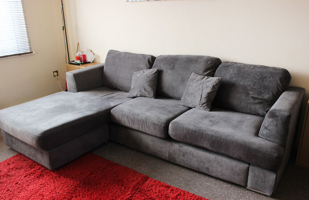 Small Fabric Corner Sofa Carla Reversible Fabric Corner Chaise Sofa Next Day Delivery Thesofa