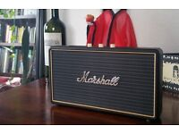 Marshall Stockwell Portable Bluetooth Speaker 25 hours battery