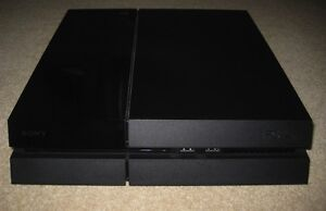 PlayStation 4 with controller, game and camera