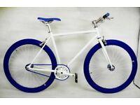 Brand new TEMAN single speed fixed gear fixie bike/ road bike/ bicycles + 1year warranty ww1