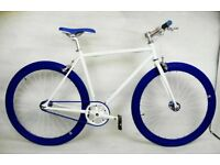 Brand new TEMAN single speed fixed gear fixie bike/ road bike/ bicycles + 1year warranty qt1