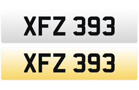 XFZ 393 – Price Includes DVLA Fees – Others Available - Cherished Personal Registration Number Plate
