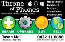 T.O.P - Repairs & Sales, Cash for New and Old Phones Deer Park Brimbank Area Preview