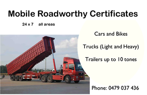Mobile Safety Certificates Roadworthy Certificates Springwood Logan Area Preview