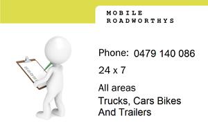 Mobile Roadworthy Certificates Browns Plains Logan Area Preview