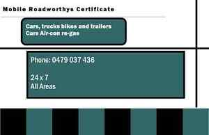 MOBILE ROADWORTHY CERTIFICATES R.W.C Forest Lake Brisbane South West Preview