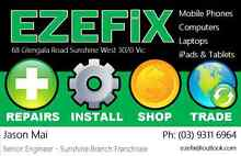 Sell a new or broken phone ipad Fast & Secure. EZEFiX Sunshine Sunshine West Brimbank Area Preview