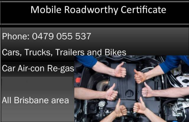 Roadworthy Certificates - Safety Certificates | Other Automotive ...