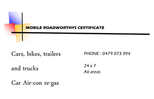 Roadworthy Certificates Coorparoo Brisbane South East Preview