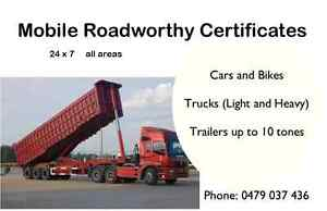 Mobile Roadworthy Certificates - Safety Certificates Spring Hill Brisbane North East Preview