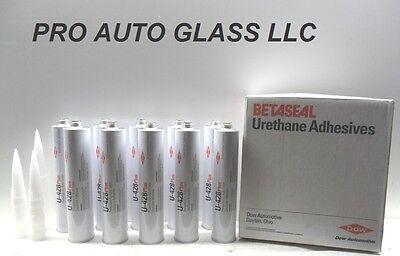 Dow U 428  Auto Glass Windshield Urethane Primerless Adhesive Glue Sealant X 10