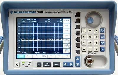 Rohde And Schwarz Fs300 9 Khz To 3 Ghz Spectrum Analyzer - Calibrated