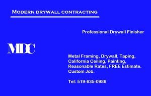 Drywall Contractor | Over 25 YEARS Experience