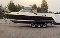 2003 Pursuit Denali 28.5' Powerboat with Trailer