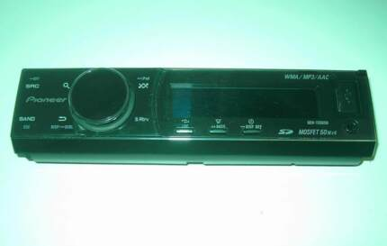 Pioneer DEH 7250SD face plate