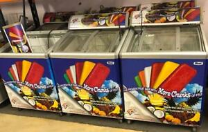 GROCERY/CONVENIENCE  STORE ICE CREAM FREEZERS FOR SALE (15 available) DISCOUNT FOR LOT