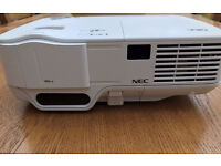 NEC NP64 Portable Projector - Very Bright Image! 3000 ANSI Lumen Brightness! 3-D Ready!