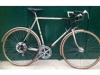 63cm XXL Raleigh Medale vintage racer racing road bike large frame