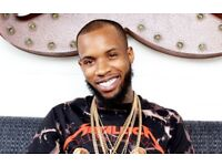 TORY LANEZ LIVE @ THE BRIXTON ACADEMY STALLS STANDING TICKETS £35