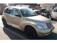 ** TURBO DIESEL ** 55 REG CHRYSLER PT CRUISER 2.2 CRD LIMITED FSH HEATED LEATHER INTERIOR