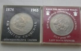 2 commemorative coins